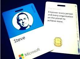 Company Id Badge Template Company Id Card Template