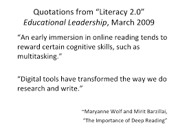 Literacy Quotes Awesome Ed Leadership Literacy 4848 Quotes