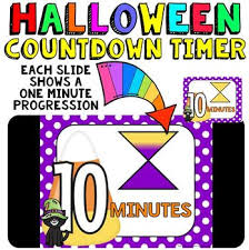 Ten Minutes Countdown Timer Countdown 10 Minutes Or Less Use With Your Halloween