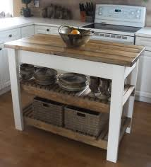 Rustic Kitchen Island Remarkable Diy Kitchen Island With Regard To Image Of Diy Rustic