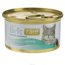 <b>Brit Care Cat</b> Kitten Chicken <b>консервы</b> для котят цыпленок - petplus