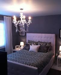 purple romantic bedrooms. Queen Size Tufted White Headboard Bed Frame Decor With Sconce Chandelier In Romantic Purple Bedroom, Bedrooms R
