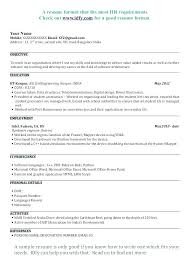 Professor Resume Format Resume Format For Lecturer Fair Sample ...