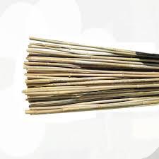 natural bamboo poles 25 pack