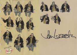 john lasseter drawing. Exellent Lasseter John Lasseter  Disney To Drawing IceCream Monster Toon Cafe