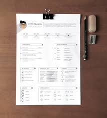 Free Professional Resume Template Beauteous Free Professional Resume Cv Template For Graphic Designers Free
