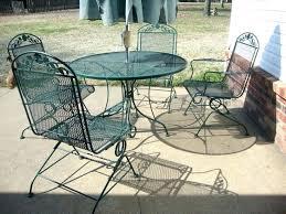black wrought iron round patio table wrought iron patio table large size of patio black metal