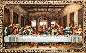 Resultado de imagen de imagen la ultima cena de da vinci