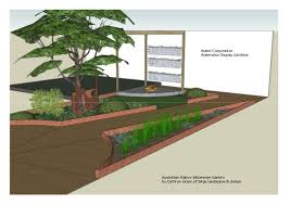 Small Picture Design A Waterwise Garden Native Garden Design Australia