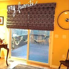 sliding door shades roman shades for sliding doors visit com sliding glass door bamboo shades