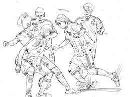 Small Picture 17 Pics Of Messi Playing Soccer Coloring Pages Soccer Player