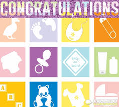 Congratulations New Baby Glitter Graphic Commentwarehouse
