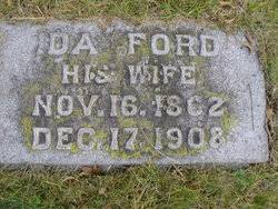 Ida Ford Gebbett (1862-1908) - Find A Grave Memorial