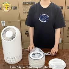 JJ Shop - Unbox máy lọc không khí Zinnia Hàn Quốc
