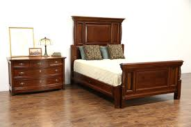 queen size 2 pc carved cherry mahogany 1890 antique bedroom set ebay antique furniture59 furniture