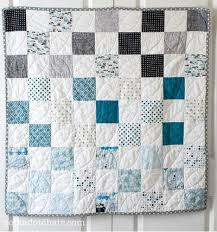 Baby Quilt Patterns Beauteous Ombre Baby Quilt Pattern FaveQuilts