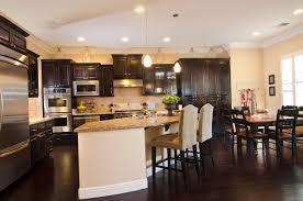 Dark Kitchen Dark Kitchen Cabinets With Dark Floors Home