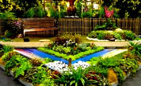 Small Picture Beautiful Front Yard Flower Beds The Landscape Design Garden