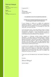 Application Letter For Fresh Graduate Commerce