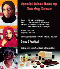 special effect cl sfx makeup artists kesan khas