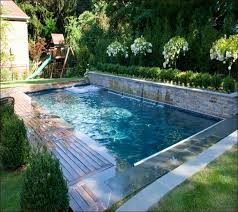 In Ground Swimming Pool Designs Small Inground Pools For Yards Custom Backyard Swimming Pool Design