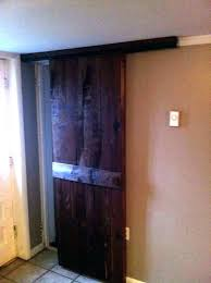 hanging sliding doors from ceiling