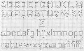 Block Letters On Graph Paper Mamiihondenk Org