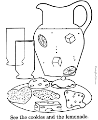 Small Picture Cookies to print and color 022