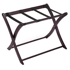 Luggage Racks For Guest Rooms Adorable Amazon Winsome Wood Luggage Rack Espresso Kitchen Dining