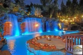 Swimming Pool With Waterfalls Drake S New Bachelor Pad In Hidden