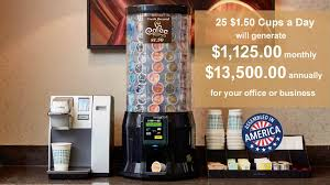 How Much Money Do Vending Machines Make Unique K Cup Coffee Vending Machine For Offices Business Vending Machines