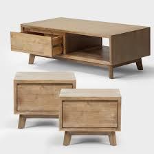 peyton coffee table 1 x side table