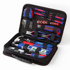 workpro 100 in 1 home mechanic tool kit diy portable tool set with tool kit bag
