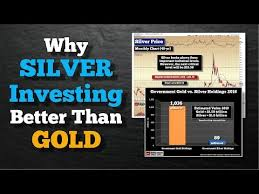 Investing Silver Chart Why Silver Is Better Than Gold Silverseek Com