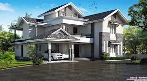 3600 Sqft 5BHK Modern Sloping Roof Kerala Villa Design 9 Stunning Design  3000 Sqft House In