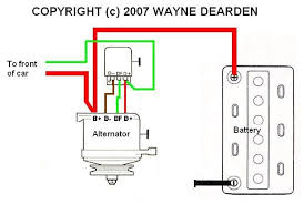 alternator diagram wiring alternator wiring diagrams extregalternator alternator diagram wiring extregalternator
