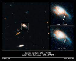 Hubble captures infrared glow of a kilonova blast   ESA/Hubble