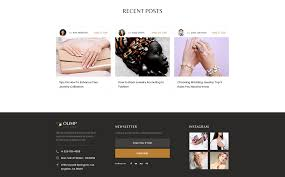 Jewelry Multipage HTML Template