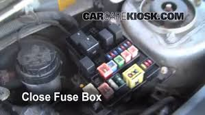 replace a fuse 2000 2004 volvo s40 2000 volvo s40 1 9l 4 cyl turbo 6 replace cover secure the cover and test component
