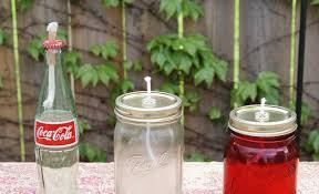 vintage coca cola lantern and mason jar lanterns