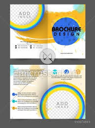 Two Page Brochure Template Purpose Of A Brochure Creative Two Page Brochure Template Or Flyer