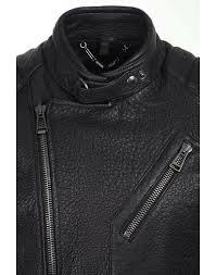 belstaff men s kendall leather jacket black