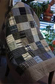 129 best quilts from men's shirts images on Pinterest | Quilt ... & Baby Quilt Blue Recycled Men's Shirts by PebbleCreekArts on Etsy Adamdwight.com