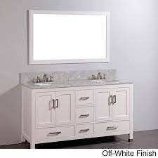 white bathroom vanities with marble tops. Attractive Bathroom Concept: Vanity Double Sink Marble Top Off White Finish Faucet Not On Vanities With Tops P