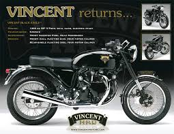 the vincent motors co was it the missed opportunity the egli