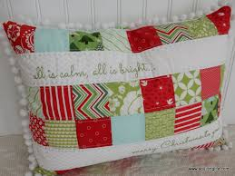 Quilted Christmas Pillows | A Quilting Life - a quilt blog & Quilted Christmas Pillows Adamdwight.com