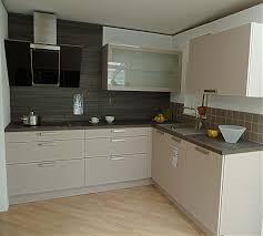 Häcker   AV 1035 Kaschmir Moderne L Küche In Kaschmir, Ohne Geräte