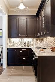 kitchen backsplashes with dark cabinets breathtaking ideas for dark cabinets and light tile backsplash white cabinets black countertops