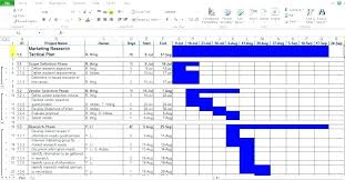 4 Year Plan Template Planning Schedule Template Excel