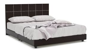Quadeco Faux Leather Bed Frame (Queen) | Furniture & Home Décor ...